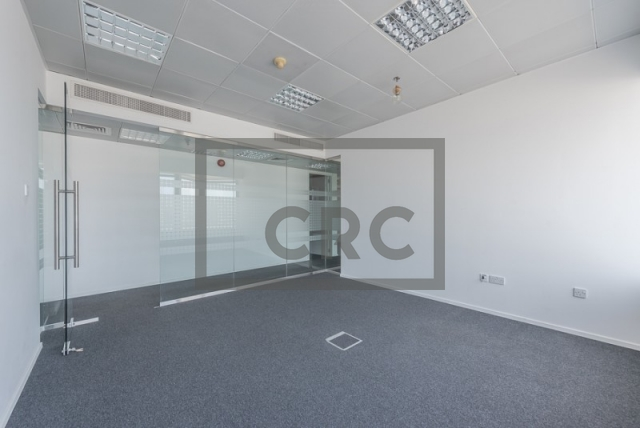 semi-furnished office for rent in sheikh zayed road, al moosa tower ii   11