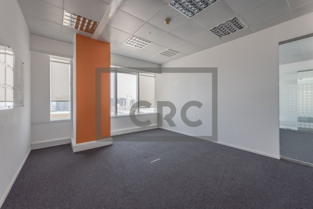 semi-furnished office for rent in sheikh zayed road, al moosa tower ii   12