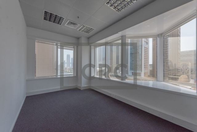 semi-furnished office for rent in sheikh zayed road, al moosa tower ii   14