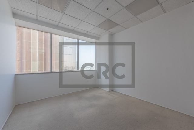 semi-furnished office for rent in sheikh zayed road, al moosa tower i   1