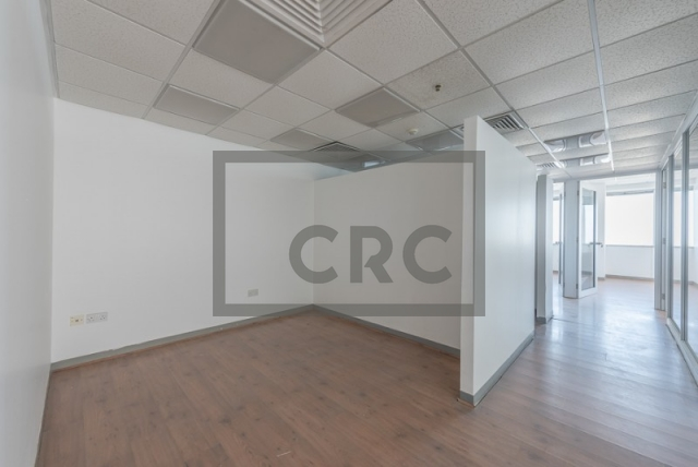 semi-furnished office for rent in sheikh zayed road, al moosa tower i   2