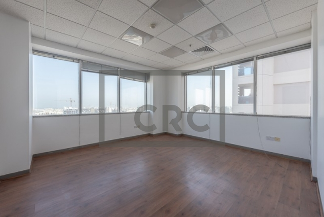 semi-furnished office for rent in sheikh zayed road, al moosa tower i   0