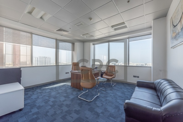 2,051 sq.ft. Office in Sheikh Zayed Road, Al Moosa Tower I for AED 164,080