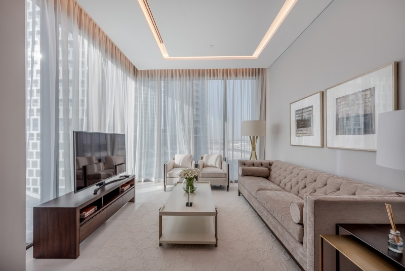 2 Bedroom Hotel Apartment For Rent in  SLS Dubai Hotel & Residences,  Business Bay | 2