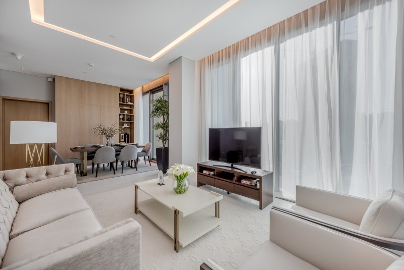 2 Bedroom Hotel Apartment For Rent in  SLS Dubai Hotel & Residences,  Business Bay | 7