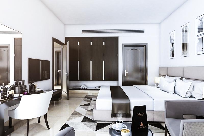Studio Hotel Apartment For Sale in  SAAM Vega,  Falcon City of Wonders | 3