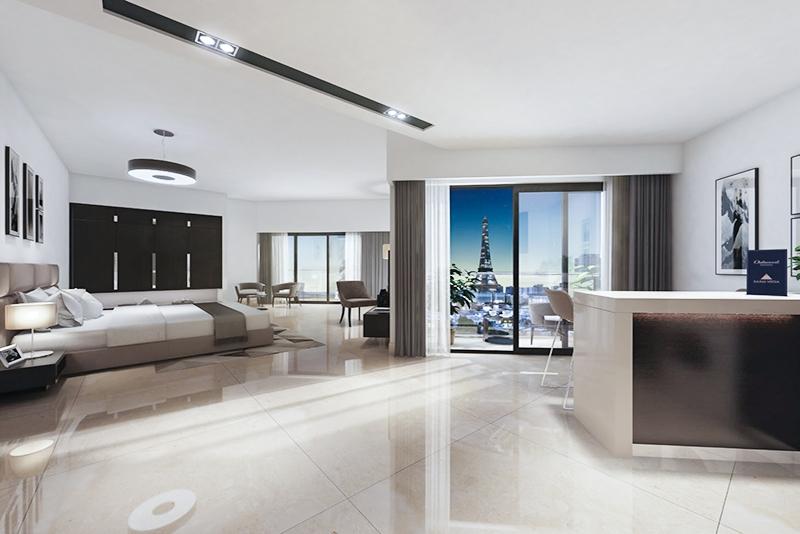 Studio Hotel Apartment For Sale in  SAAM Vega,  Falcon City of Wonders | 0