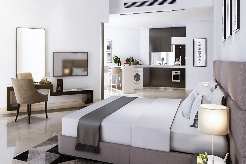 Studio Hotel Apartment For Sale in  SAAM Vega,  Falcon City of Wonders | 6