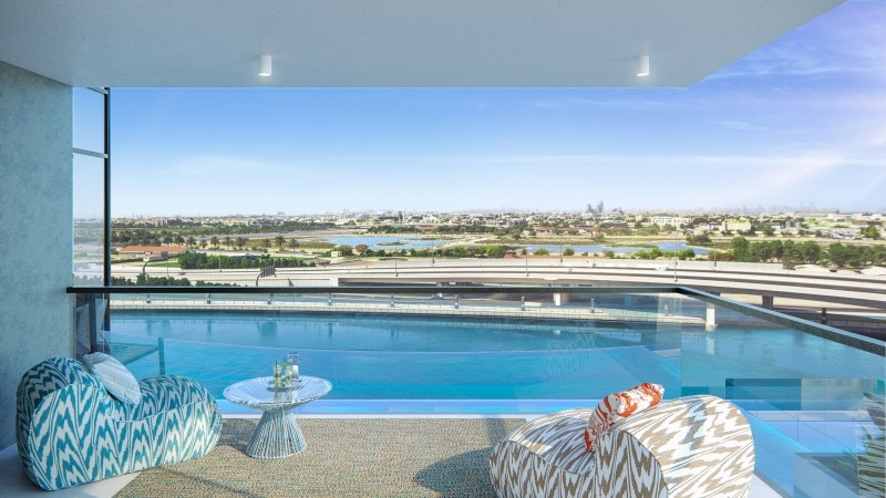 1 Bedroom Apartment For Sale in  Urban Oasis,  Business Bay | 4