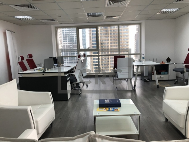 furnished office for sale in jumeirah lake towers, goldcrest executive   8