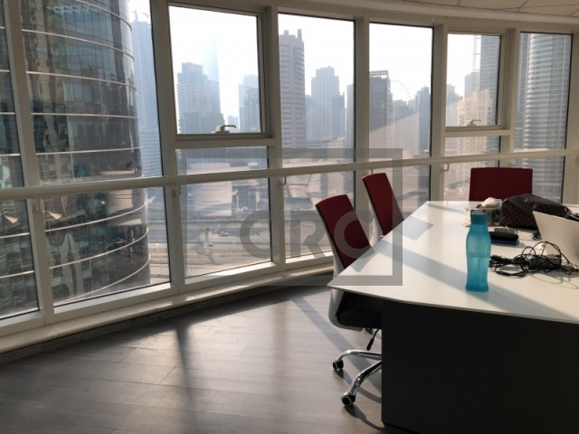 879 sq.ft. Office in Jumeirah Lake Towers, Goldcrest Executive for AED 650,000