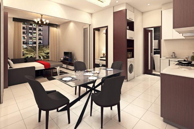 Studio Apartment For Sale in  OLIVZ by Danube,  Al Warsan   1