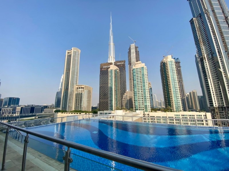 2 Bedroom Apartment For Rent in  A Tower,  Downtown Dubai   9