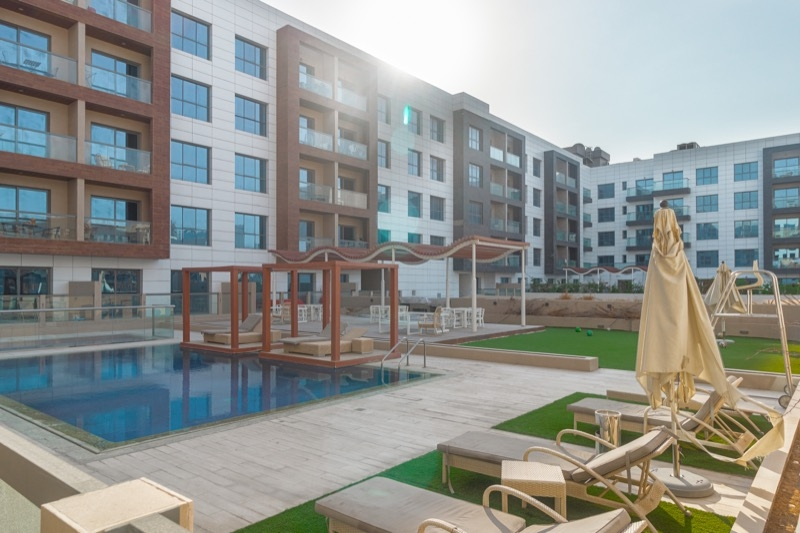 1 Bedroom Apartment For Rent in  Oxford Building,  Jumeirah Village Circle   9