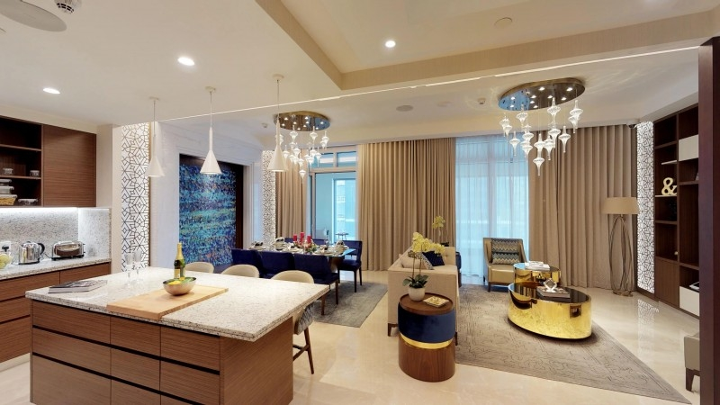 4 Bedroom Penthouse For Sale in  Imperial Avenue,  Downtown Dubai | 9