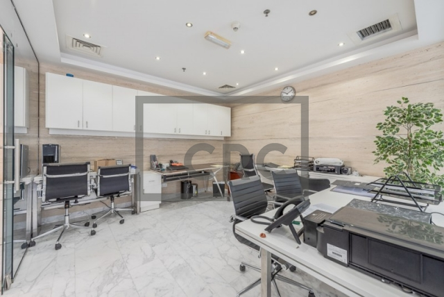 1,097 sq.ft. Office in Business Bay, The Citadel Tower for AED 1,700,000