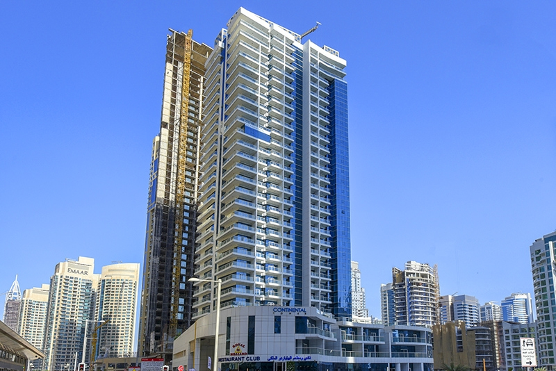 1 Bedroom Apartment For Rent in  Continental Tower,  Dubai Marina   11