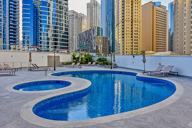 1 Bedroom Apartment For Rent in  Continental Tower,  Dubai Marina   16