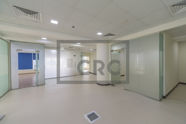 2,150 sq.ft. Office in Business Bay, Clover Bay Tower for AED 220,000