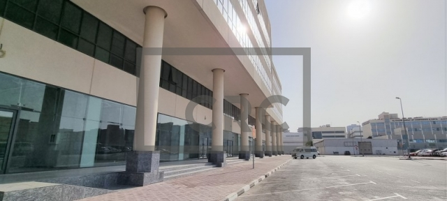 retail for rent in al garhoud, airport road area | 1
