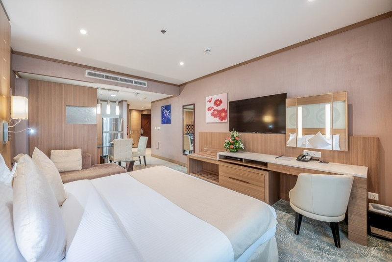Studio Hotel Apartment For Rent in  Grand Stay Hotel,  Sheikh Zayed Road | 1