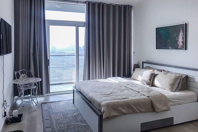 Studio Apartment For Rent in  Bloom Towers,  Jumeirah Village Circle | 0