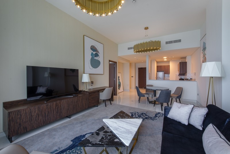 1 Bedroom Apartment For Rent in  Palm View,  Dubai Media City | 1