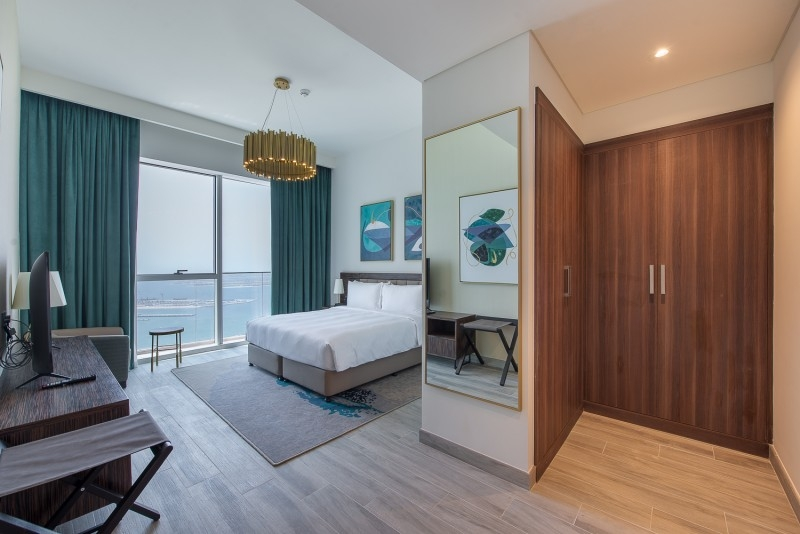 1 Bedroom Apartment For Rent in  Palm View,  Dubai Media City | 6