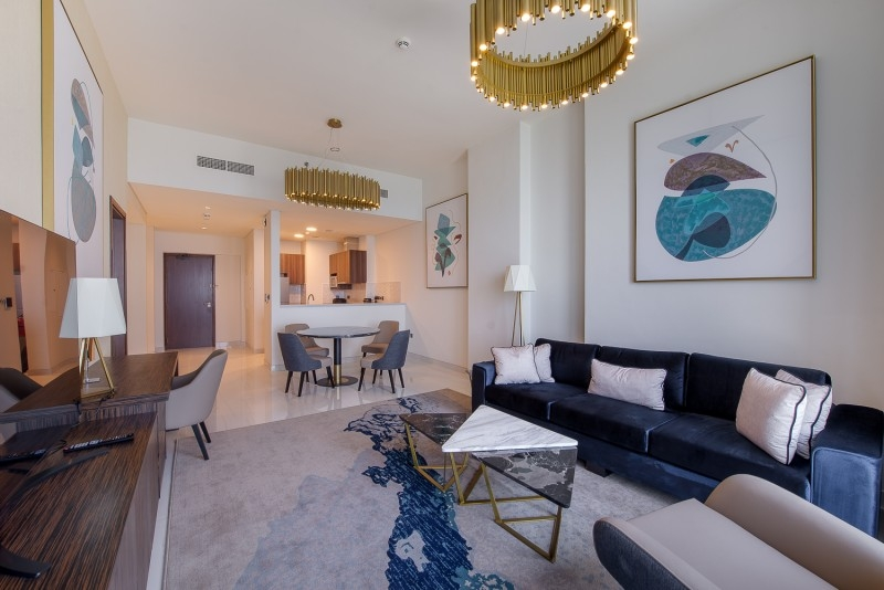 1 Bedroom Apartment For Rent in  Palm View,  Dubai Media City | 0