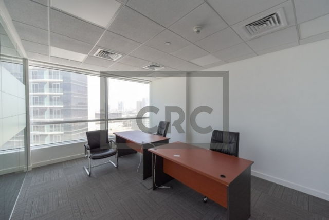 office for rent in dubai media city, concord tower | 6