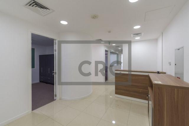 furnished office for rent in jumeirah lake towers, almas tower | 3