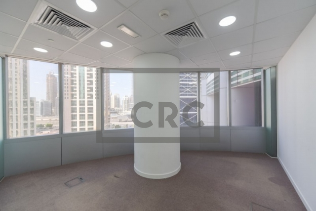 furnished office for rent in jumeirah lake towers, almas tower | 5