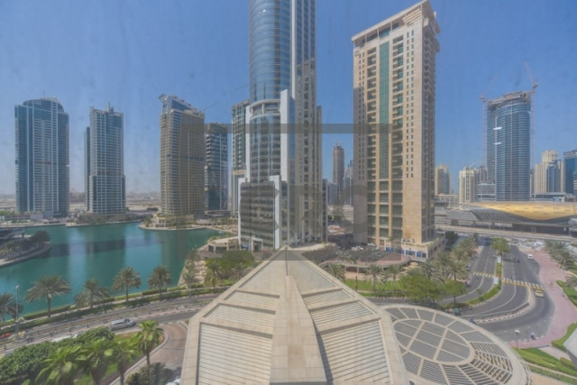 furnished office for rent in jumeirah lake towers, almas tower | 13