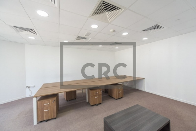 furnished office for rent in jumeirah lake towers, almas tower | 8