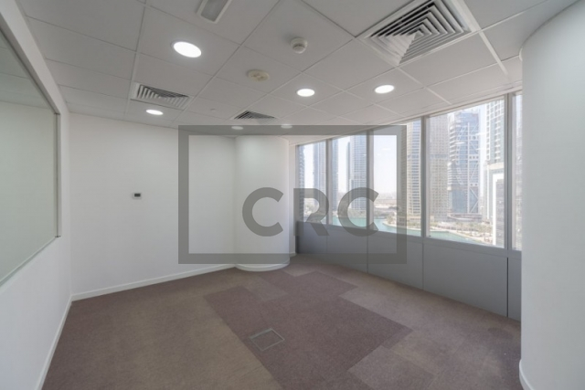 furnished office for rent in jumeirah lake towers, almas tower | 10