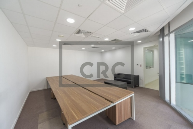 furnished office for rent in jumeirah lake towers, almas tower | 11