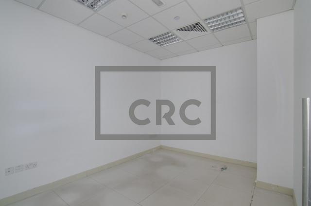 retail for rent in al garhoud, al nisf building   10