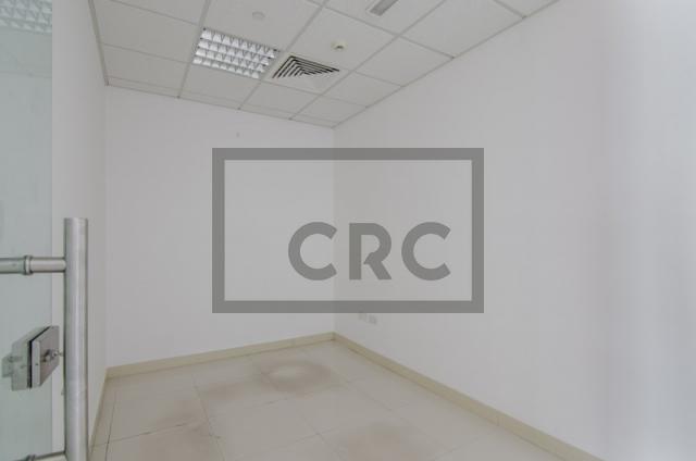 retail for rent in al garhoud, al nisf building   9