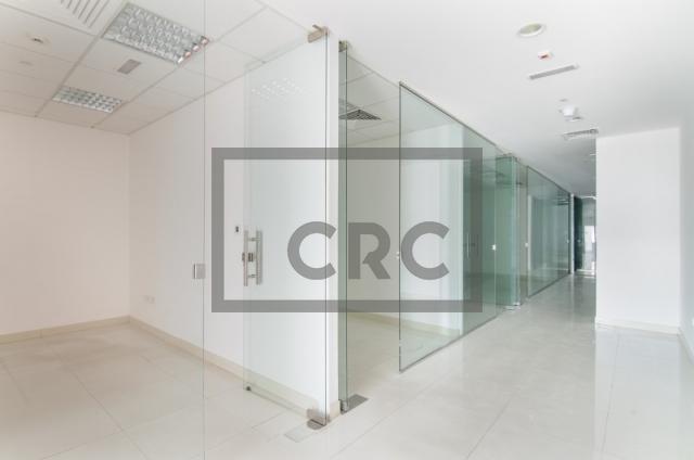 retail for rent in al garhoud, al nisf building   0