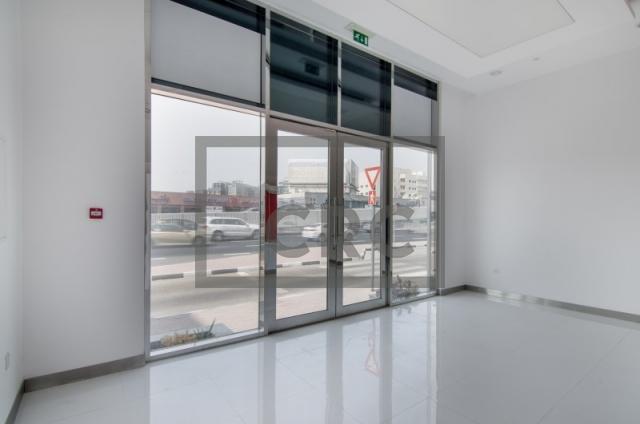 retail for rent in al garhoud, al nisf building   11