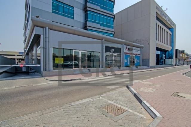 retail for rent in al garhoud, al nisf building   15