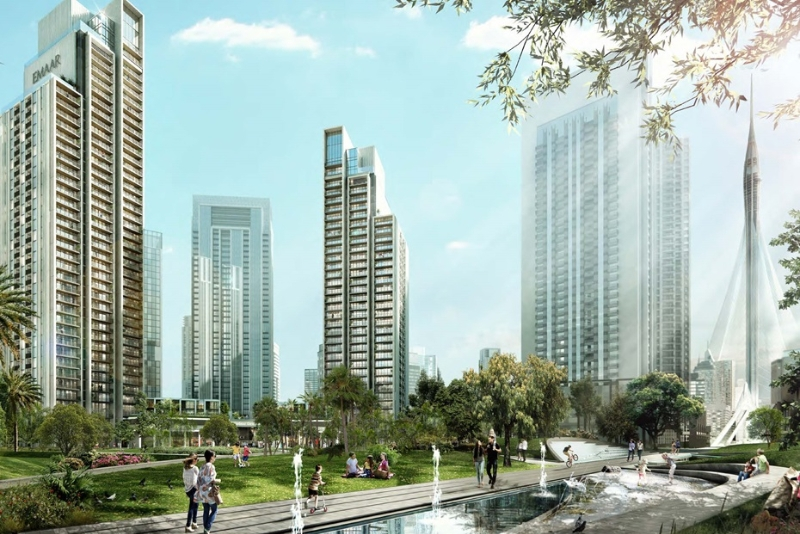 1 Bedroom Apartment For Sale in  Harbour Gate,  Dubai Creek Harbour (The Lagoons) | 0