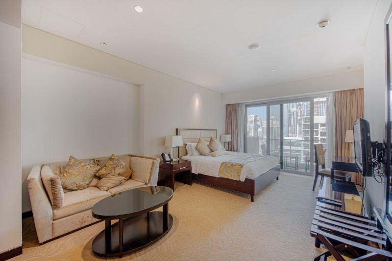 Studio Apartment For Rent in  The Address Dubai Marina,  Dubai Marina | 2