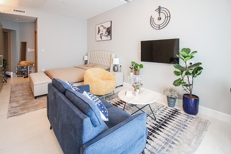 Studio Apartment For Rent in  SLS Dubai Hotel & Residences,  Business Bay | 2