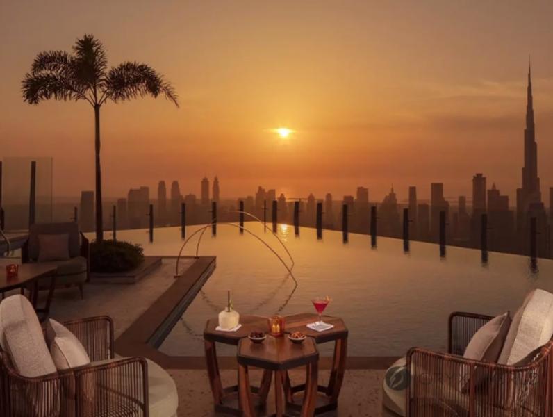 Studio Apartment For Rent in  SLS Dubai Hotel & Residences,  Business Bay | 9