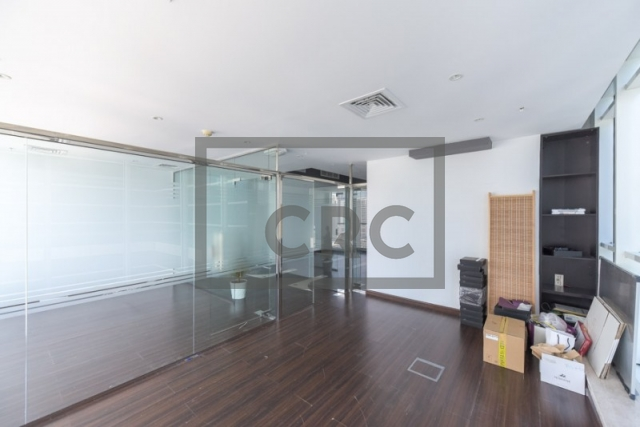 furnished office for sale in business bay, lake central | 10
