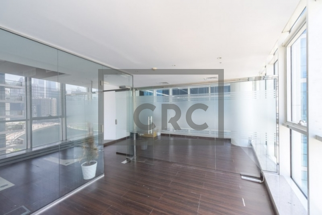 furnished office for sale in business bay, lake central | 2