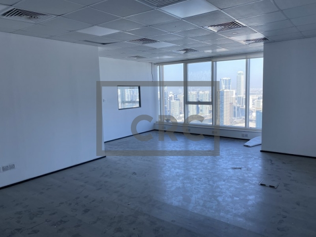 934 sq.ft. Office in Business Bay, Churchill Executive Tower for AED 85,000