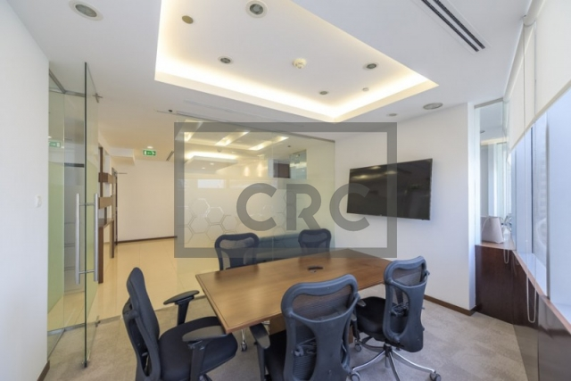 1,635 sq.ft. Office in Business Bay, Silver Tower for AED 1,800,000