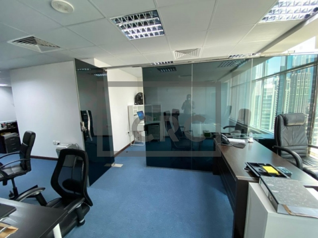 965 sq.ft. Office in Business Bay, Clover Bay Tower for AED 868,500